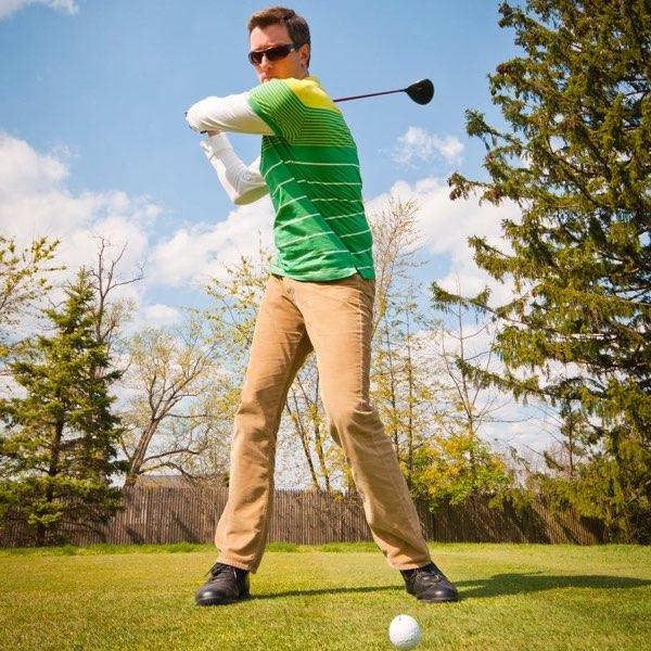 Golfbrille mit Sehstärke