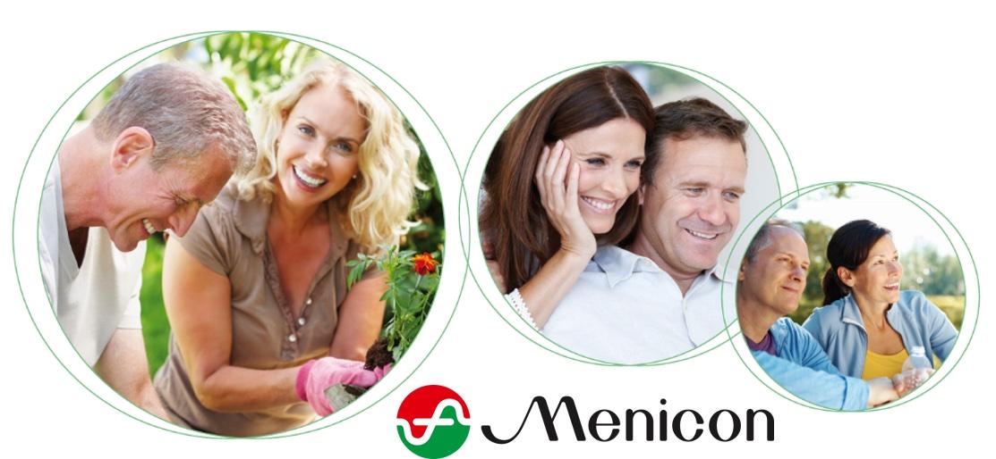 Das Bild zeigt Menschen, die Menicon Linsen tragen