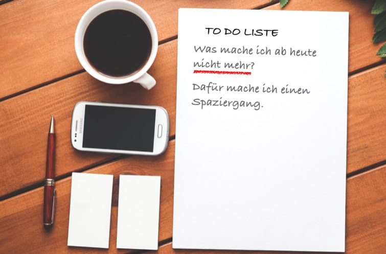 To Do Liste bei Tinnitus