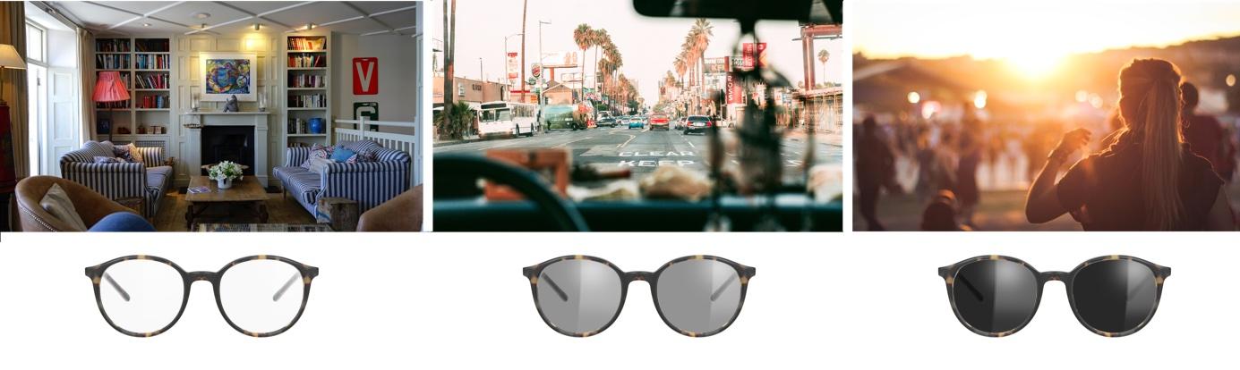 Beförderung zuverlässigste großer Rabattverkauf Selbsttönende Brillengläser (Transitions) - Die ...