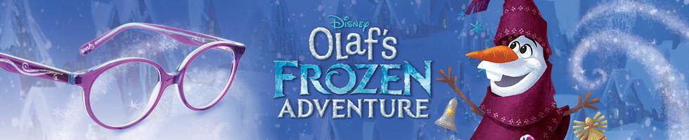 Olafs Adventure, Frozen Banner für Kinderbrillen